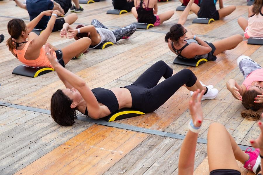 Skechers Bibione Beach Fitness: la palestra a cielo aperto è